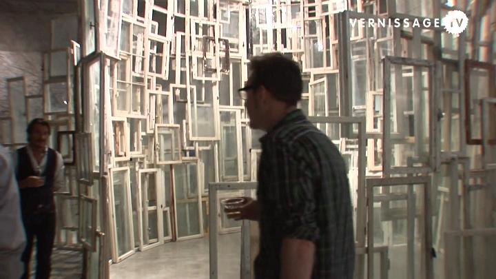 Shiharu Shiota: Window installation