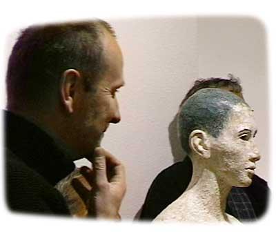 Sculptures by Walter Moroder at Albert Baumgarten Gallery Freiburg