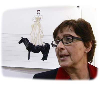 Anita Beckers talks about her gallery, artist Anila Rubiku and Loop Video Art Fair Barcelona at Pulse art fair New York 2006
