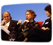 David Rogers, Michael Gabellini and others at the Architecture Talks Lucerne 2006.