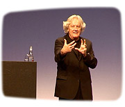 David Rogers at the Architecture Talks Lucerne 2006.