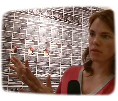 Katrin Korfmann talks about her installation grey at Scope art fair New York 2006