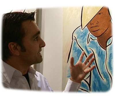 VTV interview with Walter Maciel of Walter Maciel Gallery at Pulse art fair New York