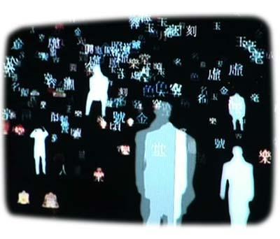 Installation by Jongbum Choi at Walsh Gallery, DiVA art fair New York 2006