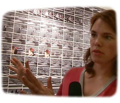 Katrin Korfmann talks about her installation grey at Scope art fair New York 2006